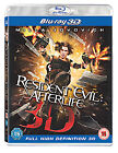 Resident Evil - Afterlife (3D Blu-ray, 2011)