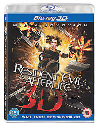 Resident Evil  Afterlife 3D Bluray 2011 - <span itemprop=availableAtOrFrom>wsm, Somerset, United Kingdom</span> - Resident Evil  Afterlife 3D Bluray 2011 - wsm, Somerset, United Kingdom