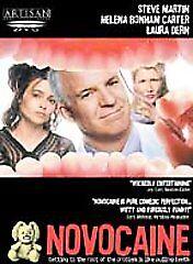 NOVOCAINE (DVD, 2002) NEW