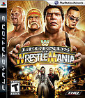 WWE Legends of WrestleMania  (Sony Playstation 3, 2009) (2009)