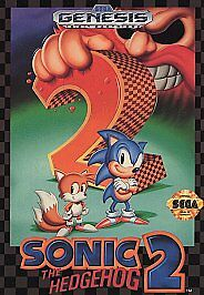 Sega-Genesis-SONIC-THE-HEDGEHOG-2-Game-1992-LN-CO