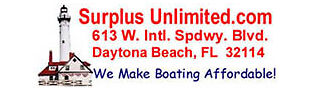 Boats Supplies at Surplus Unlimited