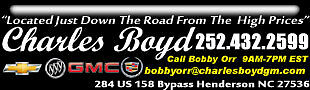 Charles Boyd Chev-Cad-GMC-Buick