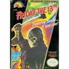Nintendo Friday the 13th Video Games