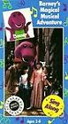 Barney - Barneys Magical Musical Adventure (VHS, 1993)