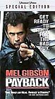 Payback (VHS, 2000, Special Edition - Spanish Subtitled)