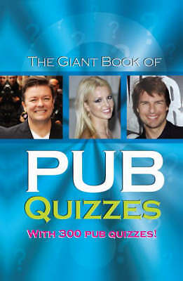 """AS NEW"" The Giant Book of Pub Quizzes (Quiz Books), , Book"
