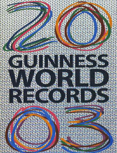 Guinness World Records 2003 Anon. Very Good 0851121470