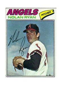 1977 Topps Nolan Ryan California Angels 650 Baseball Card