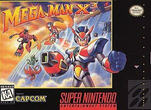 MEGA-MAN-X3-SNES-SUPER-NINTENDO-GAME-COSMETIC-WEAR