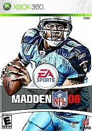MADDEN NFL 08 (Microsoft Xbox 360, 2007) BRAND NEW, FACTORY SEALED