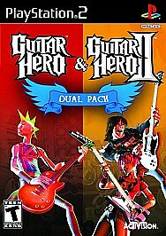 PlayStation2-Guitar-Hero-1-amp-2-Dual-Pack-BRAND-NEW-Sony-PS2-Game-VideoGames