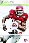 NCAA Football 09 Sports Microsoft Xbox 360 Video Games