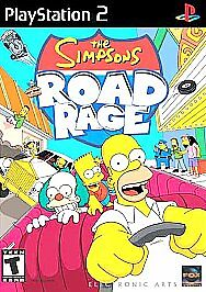 Simpsons Road Rage (Sony PlayStation 2, 2001) for sale online   eBay