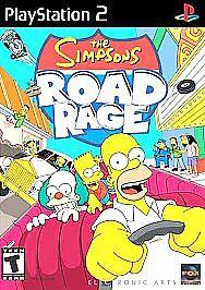 Simpsons Road Rage (Sony PlayStation 2, 2001) ***ORIGINAL & COMPLETE***
