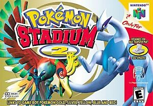 POKEMON-STADIUM-2-N64-NINTENDO-64-GAME-COSMETIC-WEAR