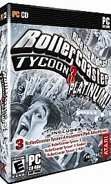 RollerCoaster Tycoon 3: Platinum (PC: Windows, 2006) for sale online | eBay