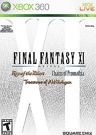 Details about Xbox 360 : Final Fantasy XI: Chains of Promathia, Rise Of The  Zilart, Treasures