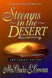 Streams-in-the-Desert-Sampler-Charles-E-Mrs-Cowman-Acceptable-Book