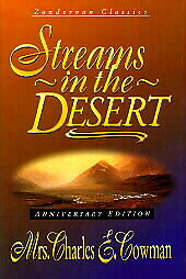 Streams-in-the-Desert-Sampler-Charles-E-Mrs-Cowman-Acceptable-Book