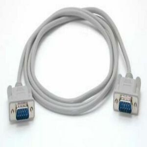 StarTech 6 ft Straight Through Serial Cable - DB9 M/M - serial cable - 1.8 m