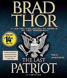 The-Last-Patriot-Brad-Thor-Audio-CD