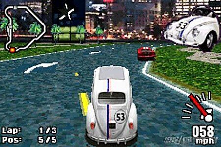 Herbie Fully Loaded Nintendo Game Boy Advance, 2005