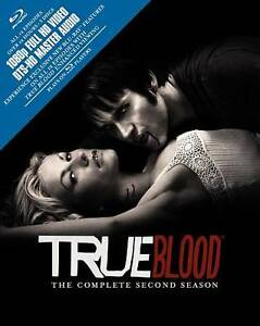 NEW! True Blood: The Complete Second Season (Blu-ray Disc, 2010, 5-Disc Set)