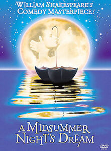 A Midsummer Night's Dream (DVD, 2002)