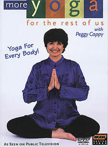 peggy cappymore yoga for the rest of usposes new dvd