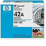 HP 42A (Q5942A) Black Toner Cartridge