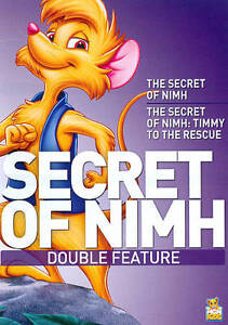 THE-SECRET-OF-NIMH-1-2-New-DVD-Double-Feature