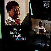 FITZGERALD & ARMSTRONG [ CD 1993 ] ELLA & LOUIS AGAIN - EXCELLENT CONDITION
