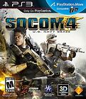 SOCOM 4: U.S. Navy SEALs  (Sony Playstation 3, 2011) (2011)
