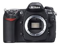 Nikon D200 10.2MP Digital SLR Camera Body Only Discontinued by Manufacturer
