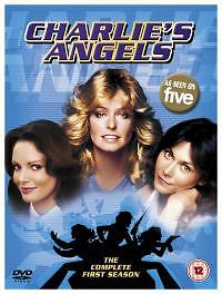 Charlie's Angels - Series 1 (DVD, 2003, 5-Disc Set, Box Set)