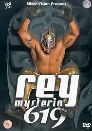 Rey Mysterio 619 Genuine UK DVD  UK Preowned  FAST DISPATCH - <span itemprop=availableAtOrFrom>Blackburn, United Kingdom</span> - Refund Most purchases from business sellers are protected by the Consumer Contract Regulations 2013 which give you the right to cancel the purchase within 14 days after the day you rece - Blackburn, United Kingdom