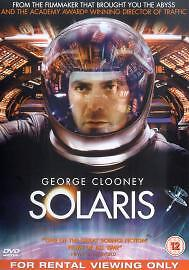SOLARIS - RENTAL DVD DVD Value Guaranteed from eBay's biggest seller!