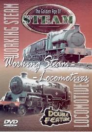 The Golden Age Of Steam - Working Steam / Locomotives (DVD, 2001)