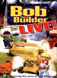 Bob The Builder Live! (DVD, 2002)