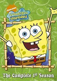SPONGEBOB / SPONGE BOB SQUAREPANTS - THE COMPLETE FIRST 1ST TV SERIES 1 DVD NEW