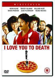 I LOVE YOU TO DEATH DVD (1990)  KEVIN KLINE - UK RELEASE REGION 2 - BRAND NEW