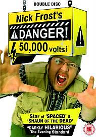 Danger 50000 Volts Nick Frost's DVD TV Comedy UK Release Brand New Sealed R2