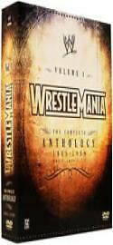 WWE - Wrestlemania 1 To 5 (DVD, 2006, 7-...