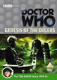 Doctor-Who-The-Genesis-Of-The-Daleks-DVD-2006-2-Disc-Set-Brand-new-and-se