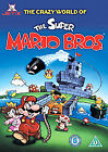 Super Mario Brothers - The Crazy World Of Super Mario Brothers (DVD, 2007)