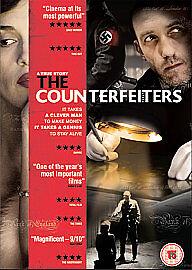The Counterfeiters DVD (2008) Karl Markovics NEW & SEALED