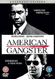 American Gangster DVD 2008extended edition - Cramlington, United Kingdom - American Gangster DVD 2008extended edition - Cramlington, United Kingdom