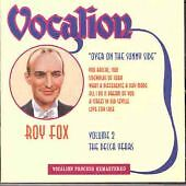 Vocalion Jazz Compilation Music CDs