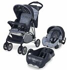 Graco Breeze 7464 Blue Travel System Single Seat Stroller